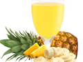 Pineapple and Banana Flavored Drink Mix